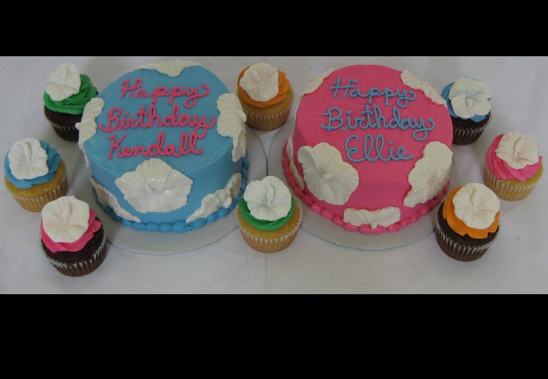 Luau Cakes